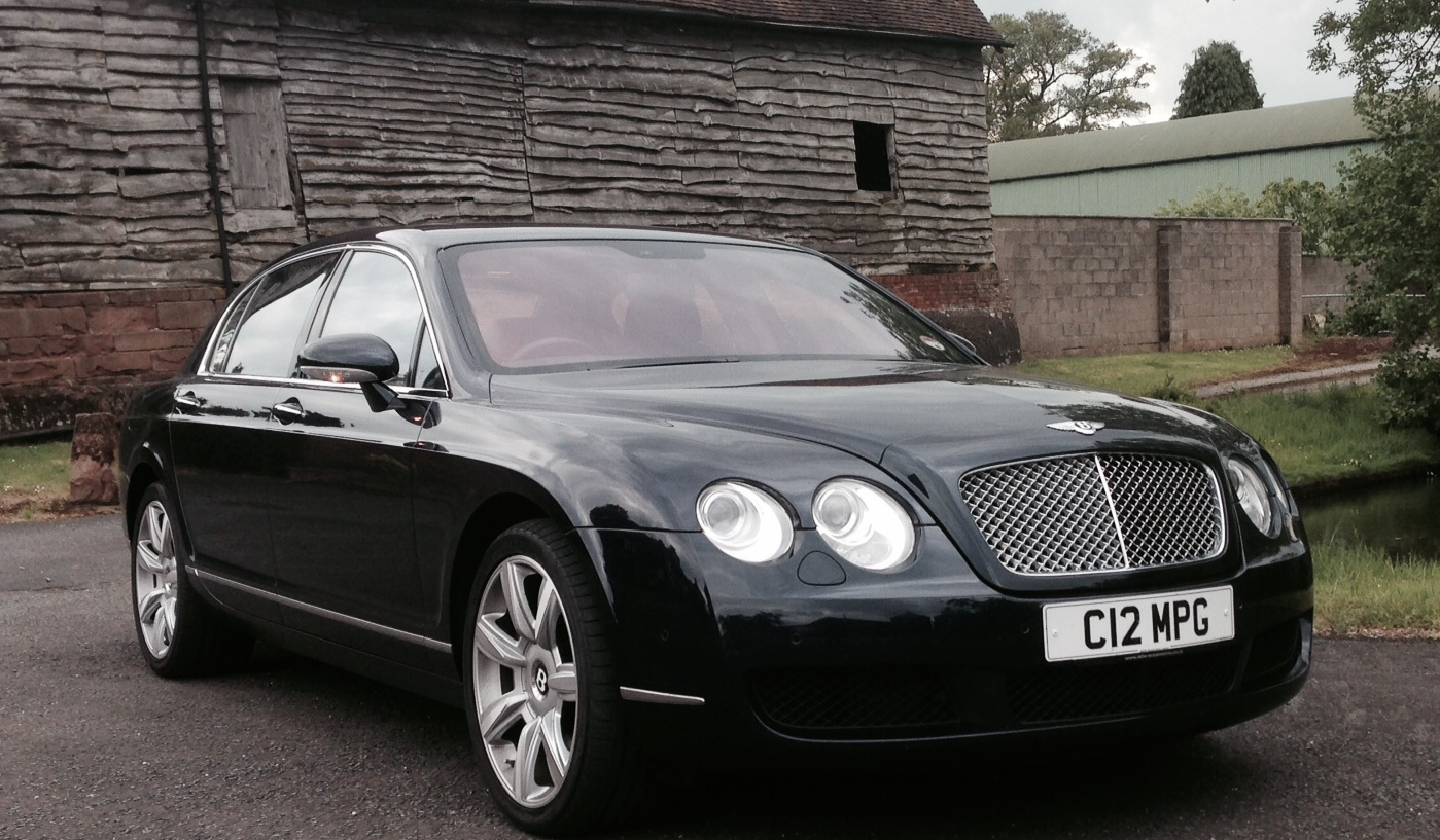 Bentley Continental Flying Spur 2006 Wedding And Prom Car Hire In Kidderminster Worcester