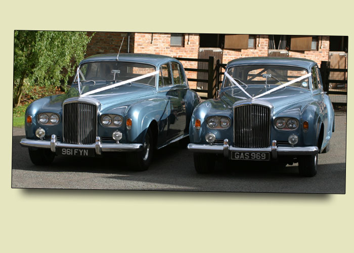 Bentley S3 1963 1965 caribbean blue Wedding and Prom Car Hire in Kidderminster, Worcester & Birmingham