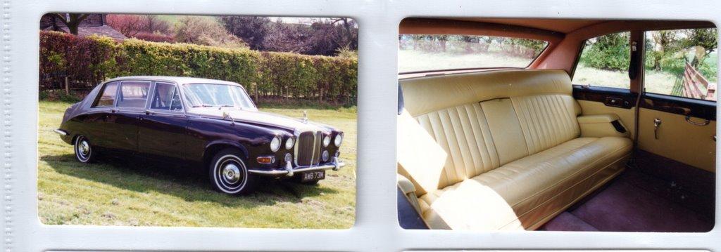 Daimler Vanden Plas 7 Seater Limiusine Wedding And Prom Car Hire In Kidderminster Worcester