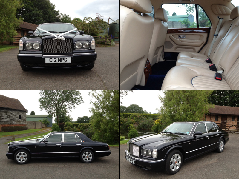 Bentley Arnage Wedding And Prom Car Hire In Kidderminster